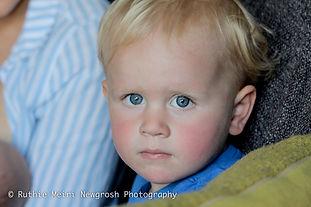 blue eye boy