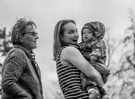 Three Generations of  Lovely Ladies