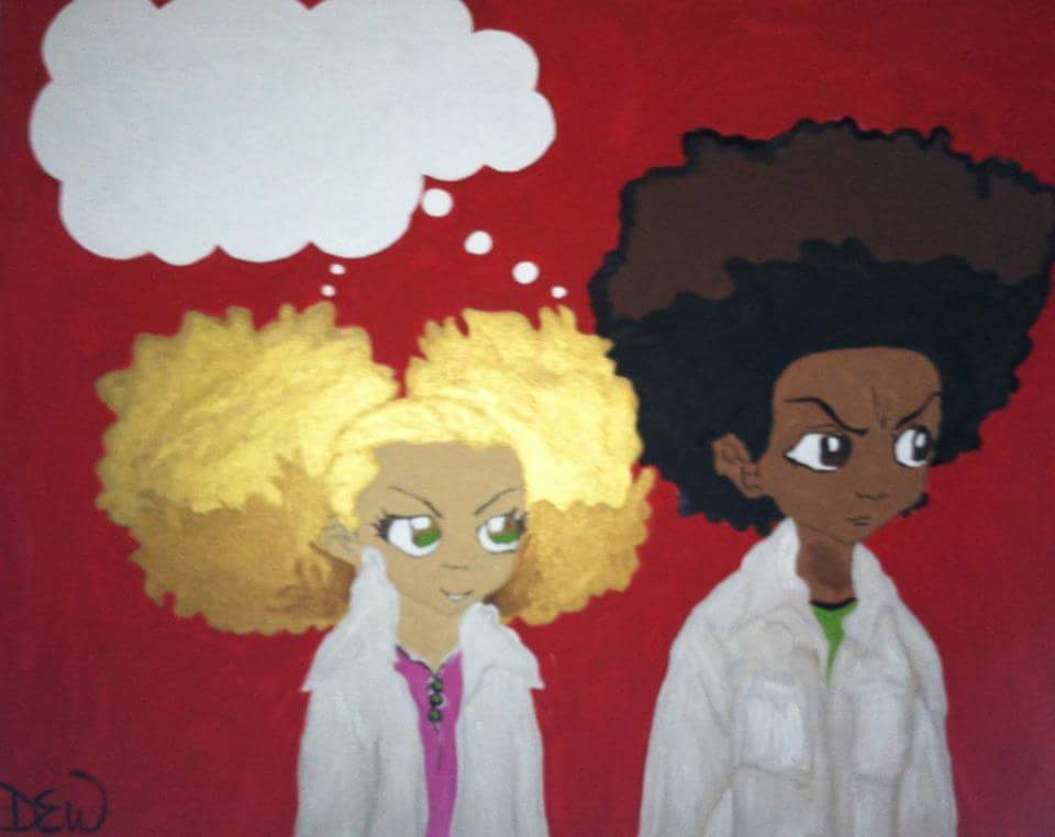Original Acrylic of Boondocks