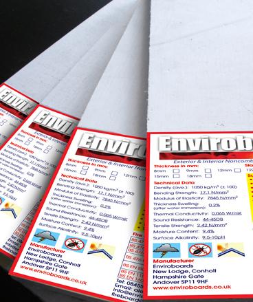 Enviroboards Fire Board