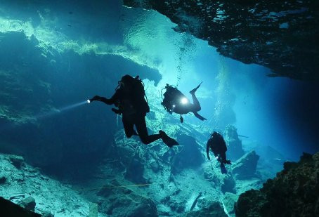 CENOTE DIVING: exploring the 'Hidden World'