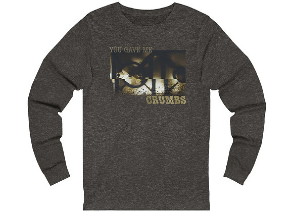 """Crumbs"" - Unisex Jersey Long Sleeve Tee"
