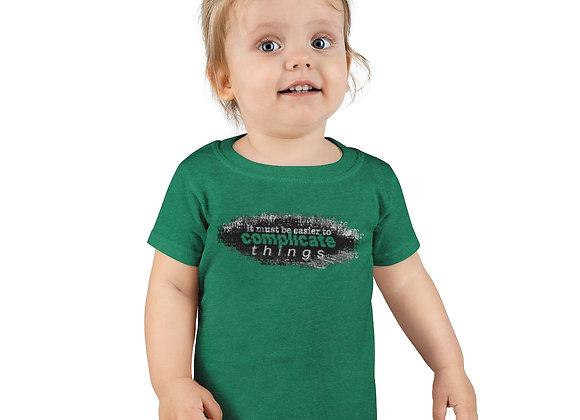 """Complicated"" - Toddler T-shirt"