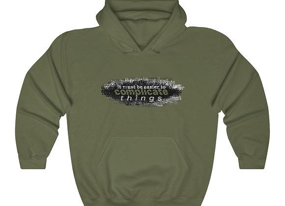 """Complicated"" - Unisex Heavy Blend™ Hooded Sweatshirt"