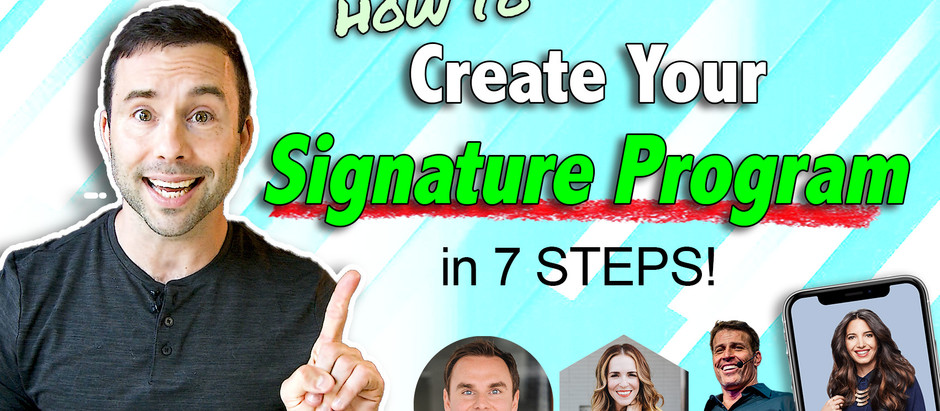 How to Create your Signature Coaching Program