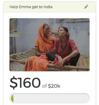 URGENT TRIP TO INDIA NEEDS SUPPORT