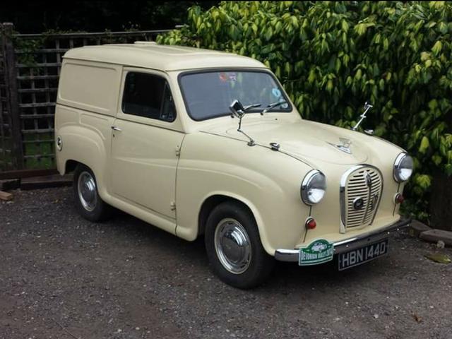 Classic Austin Van