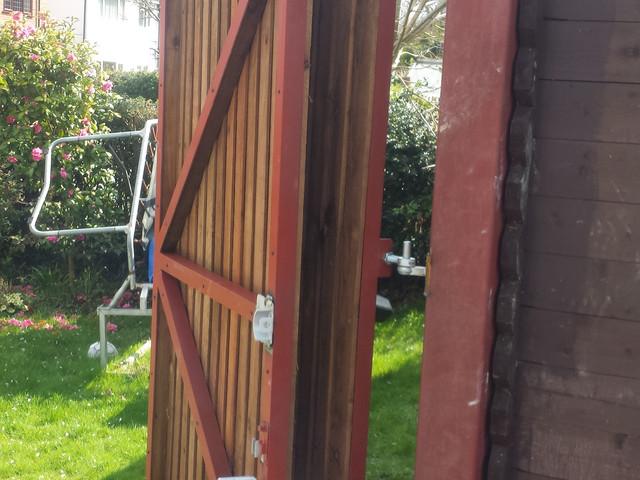 Bi Fold Gate Folded