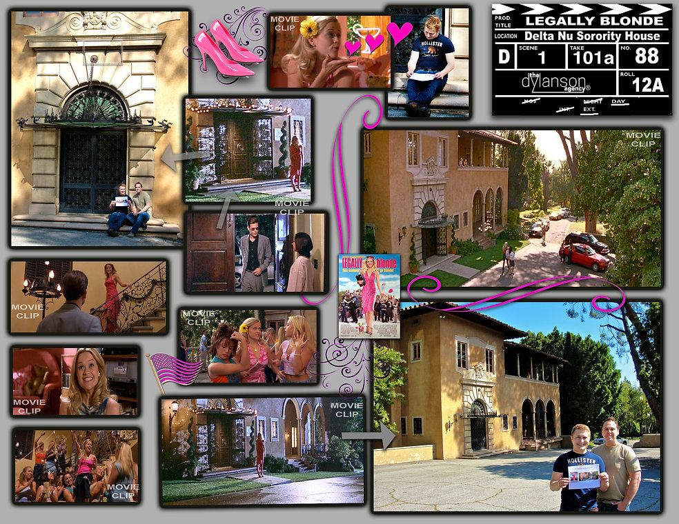 dylanson agency legally blonde