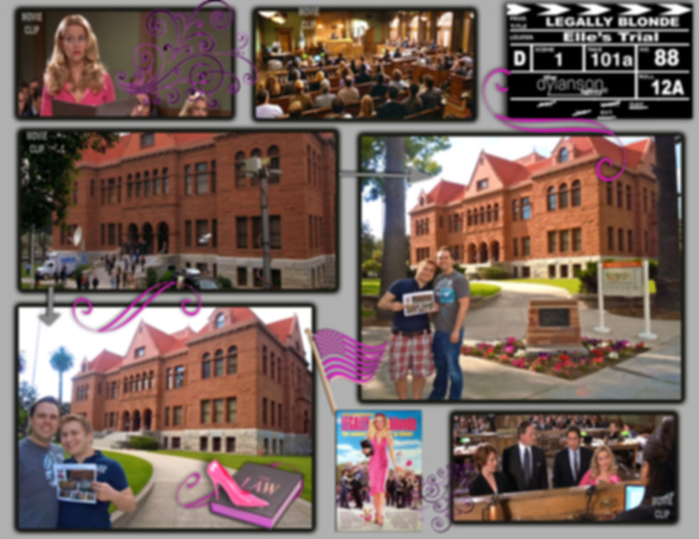 dylanson agency legally blonde movie