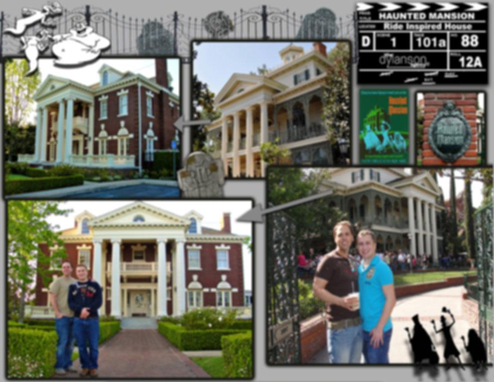 dylanson agency haunted mansion disneyland