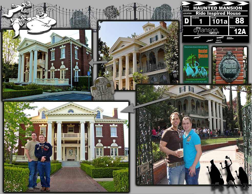 dylanson agency haunted mansion disneyland