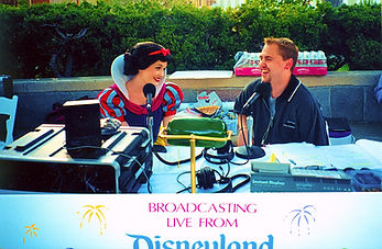 ON AIR WITH DYLAN at DISNEYLAND