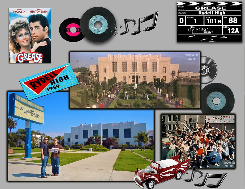 dylanson agency grease movie