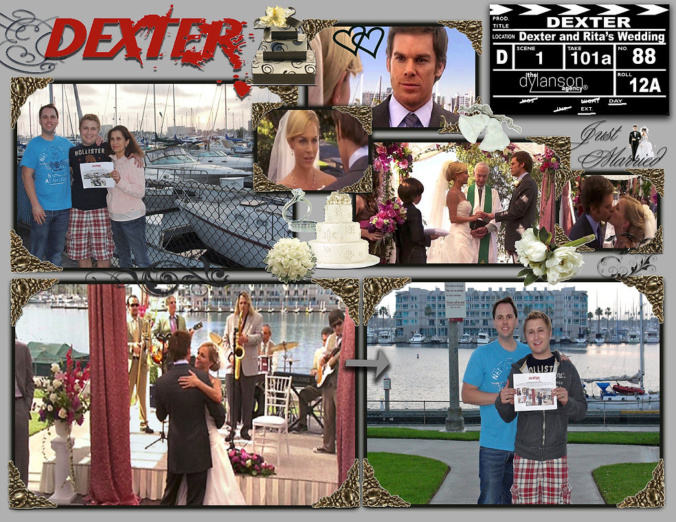 dylanson agency dexter tv show