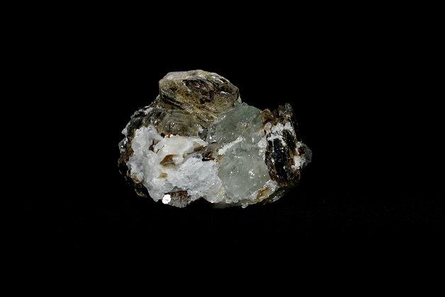 Aquamarine, Mica, & Cleavelandite