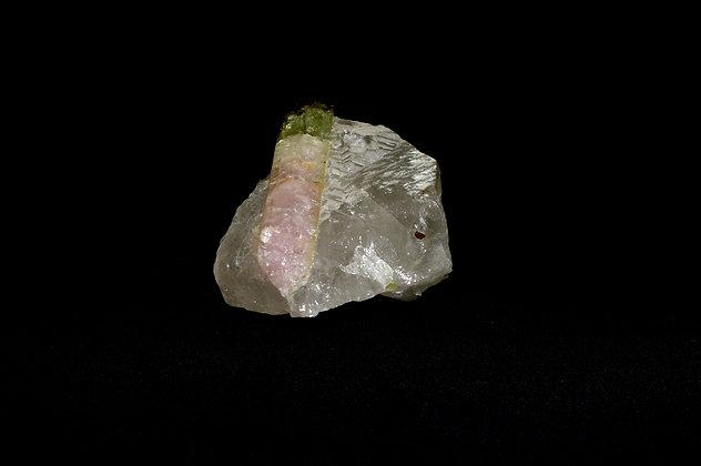 Elbaite (Watermelon Tourmaline) in Lepidolite