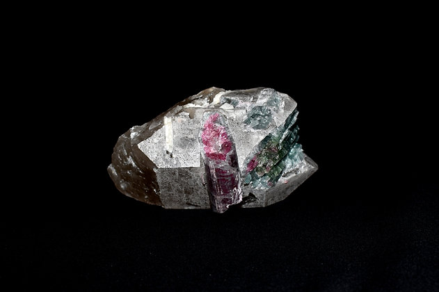 Elbaite (Watermelon Tourmaline) Clusters