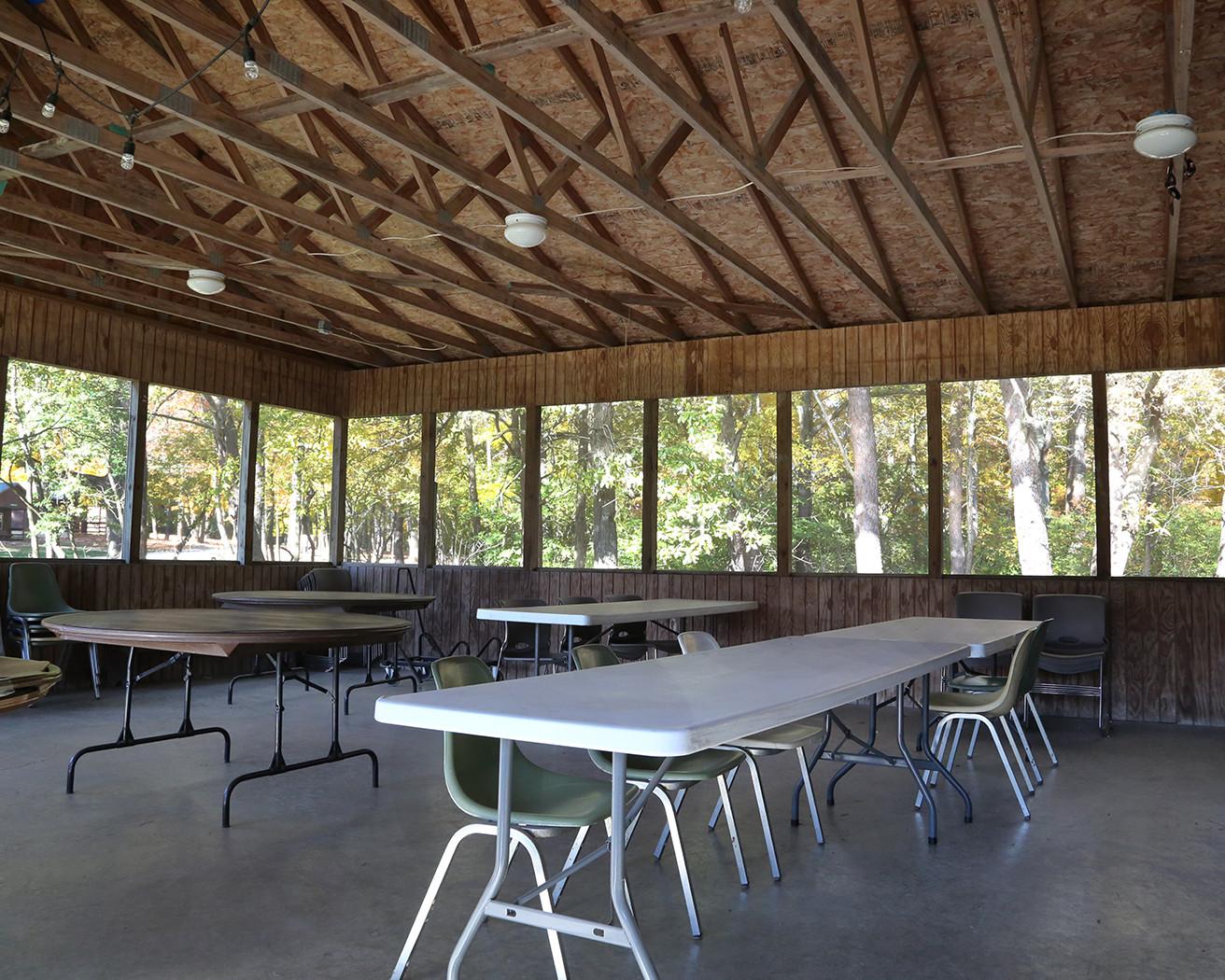 Stern Lodge Porch