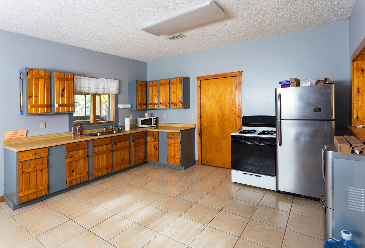 Stern Lodge Kitchen