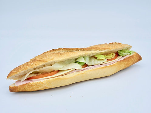 Sandwich jambon tomate mozzarella