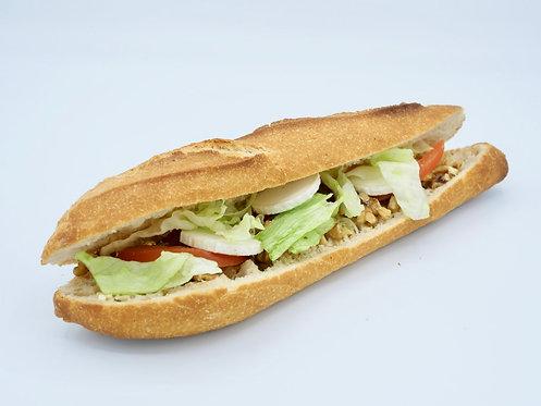 Sandwich chèvre noix