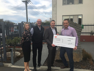 Skal Christchurch helps Maia Health Foundation
