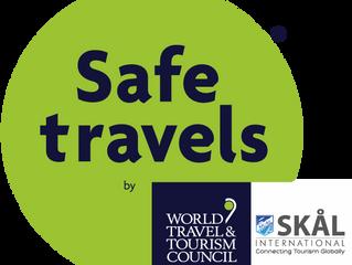 WTTC & SKÅL INTERNATIONAL#SAFETRAVELS STAMP