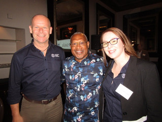 Skal New Zealand's Travel & Tourism breakfast attracts industry from both sides of the Tasma