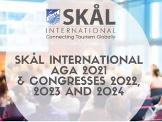 SKÅL INTERNATIONAL ANNUAL GENERAL ASSEMBLY 2021