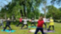 gym zen forêt