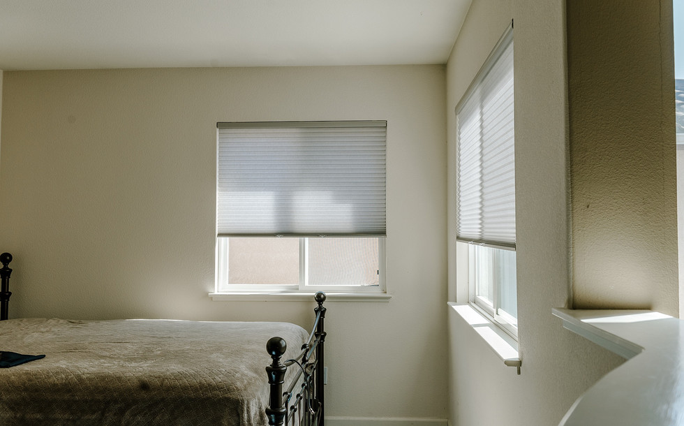 """Graber Cellular Shade in """"Hushed Gray"""""""