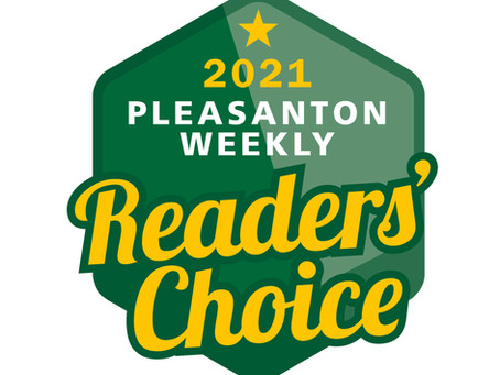 Window-ology Awarded Best Window Treatments by Pleasanton Weekly