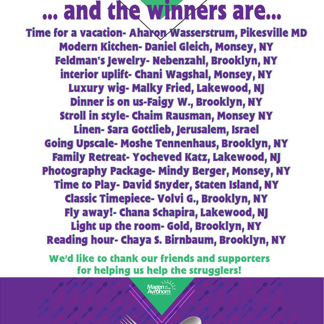 WINNERS ACT FAST AUCTION