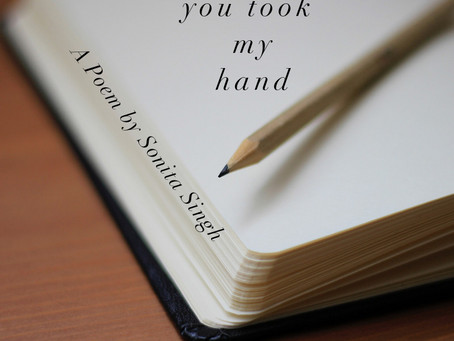 you took my hand