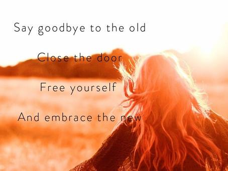 So I said goodbye