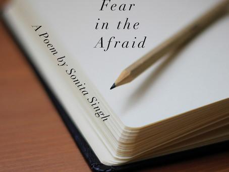 fear in the afraid
