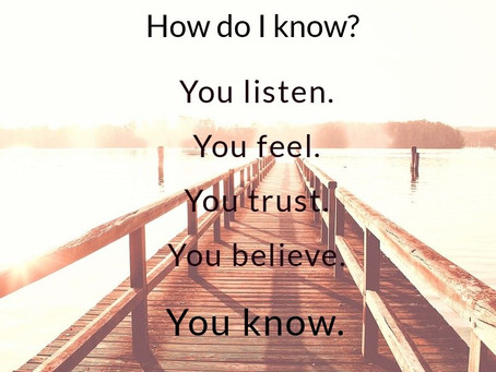 your knowing knows