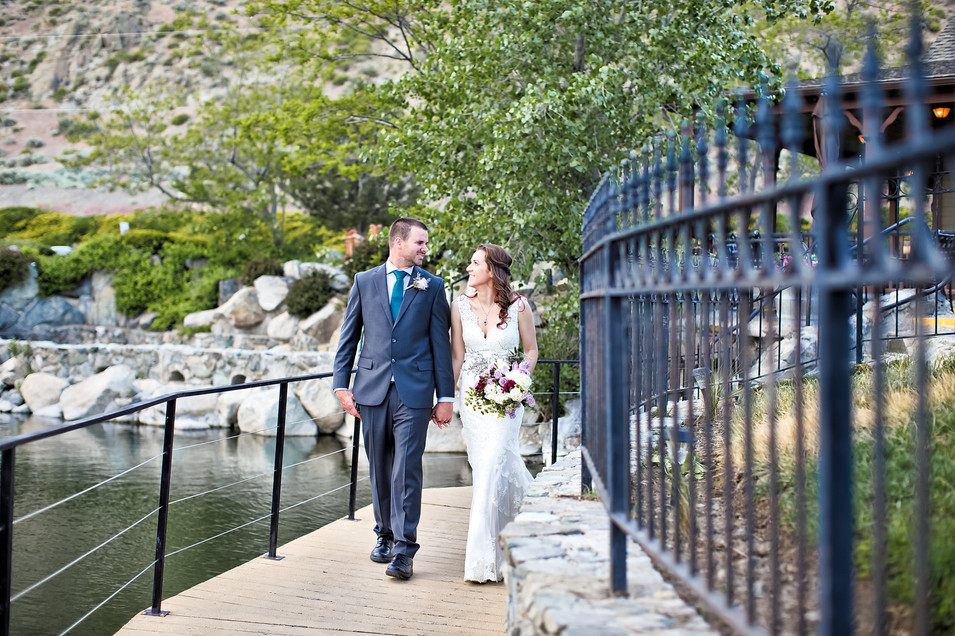 david walleys hot spring wedding