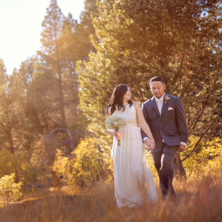 fall tahoe wedding