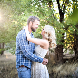 rustic engagement session gardnerville