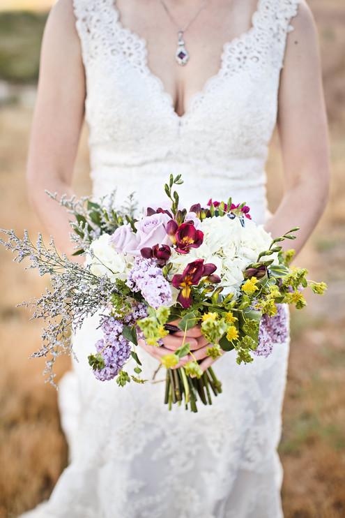 genoa wedding bridal bouquet