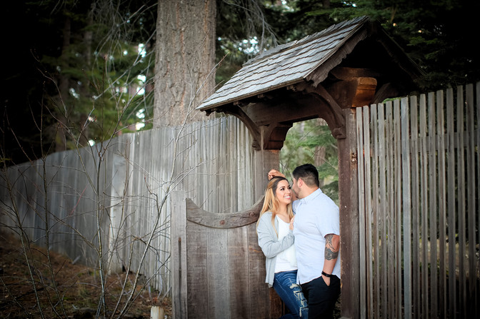 tahoe engagement session valhalla