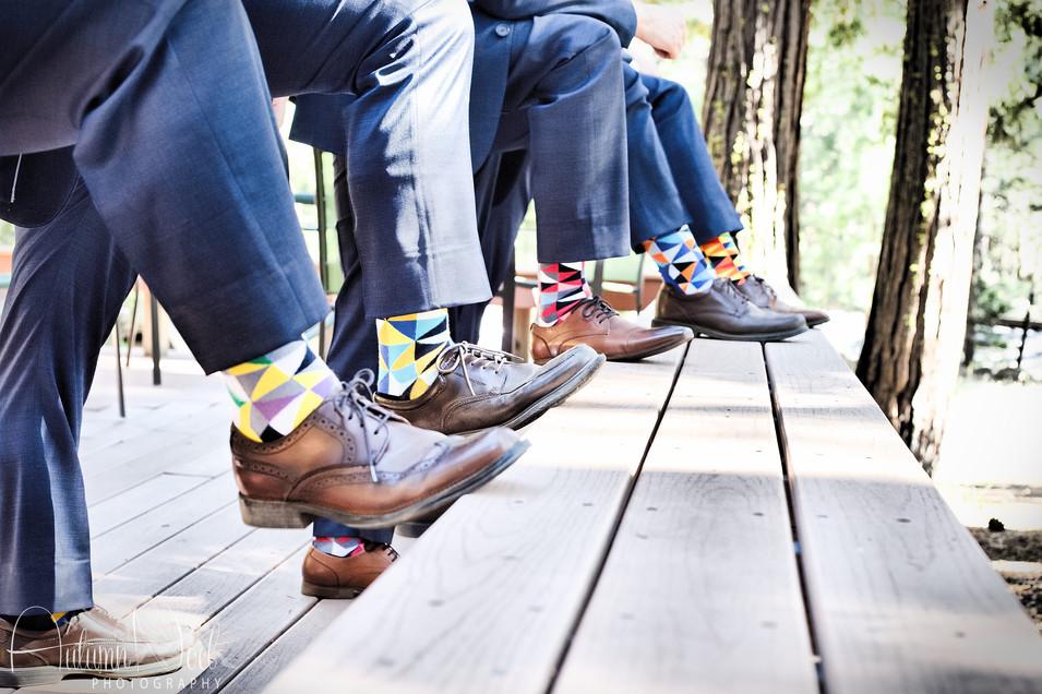 grooms and groomsman socks