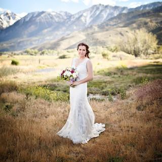 genoa bridal portrait