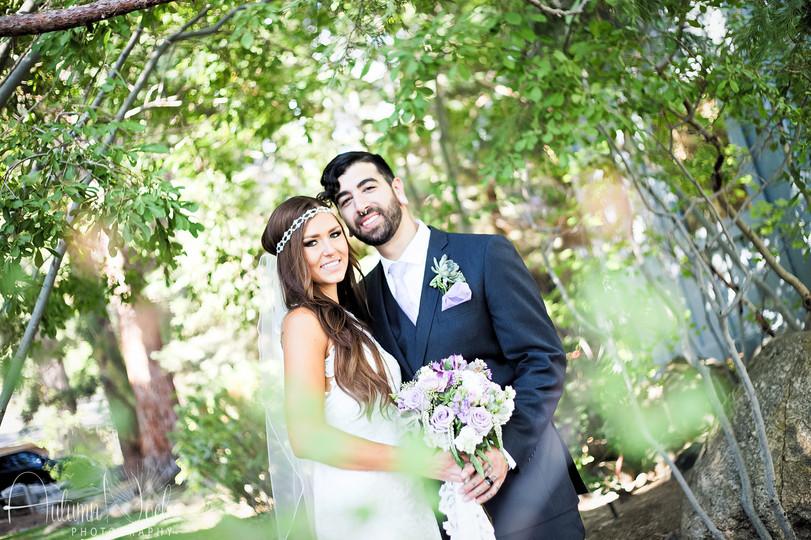 wedding day incline village nevada