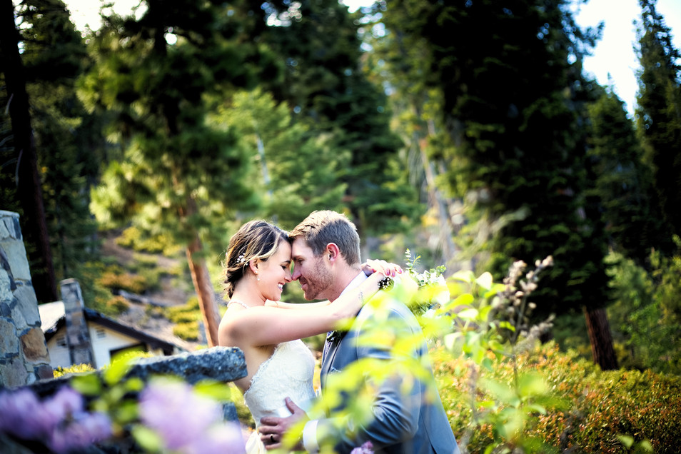 tahoe forest wedding
