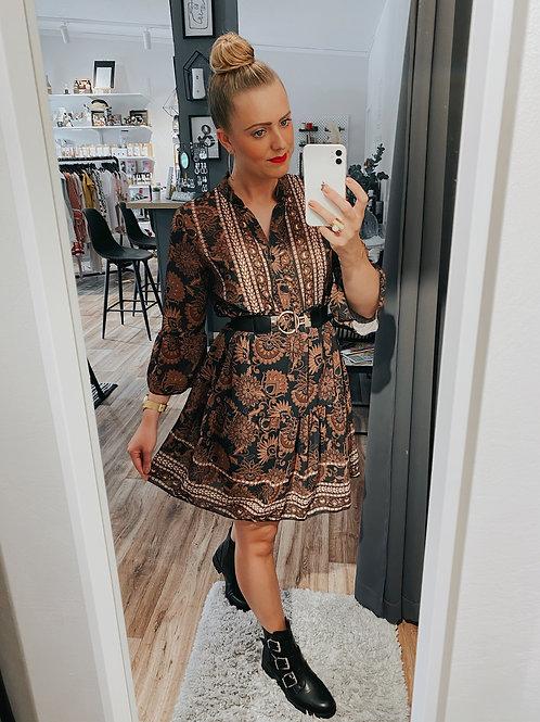 Kleid Greta braun