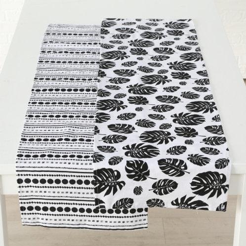 Tischläufer Black & White