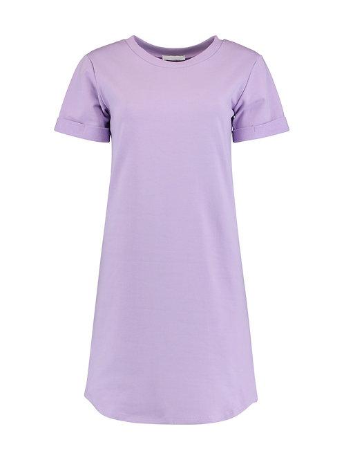 T-Shirt Kleid Ann Flieder
